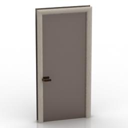 Door LONGHI 3d model