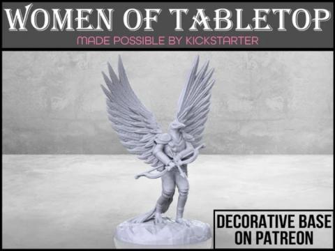 Eaglefolk Ranger - Tabletop Miniature