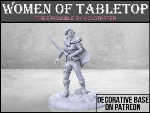 Elven Rogue - Tabletop Miniature