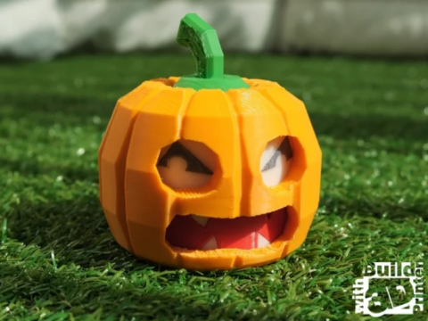 Face Changing Halloween Pumpkin