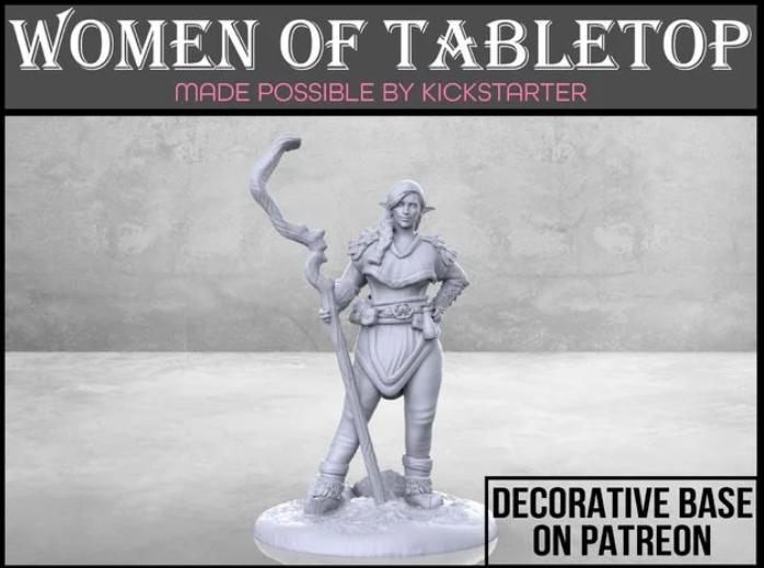 Firbolg Druid - Tabletop Miniature