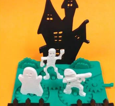 Halloween Party Kit Card