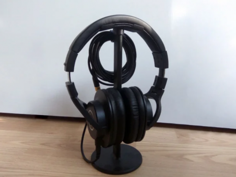 Headphone Stand Cable Holder