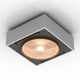 Lamp Delta Light VISION 3d model