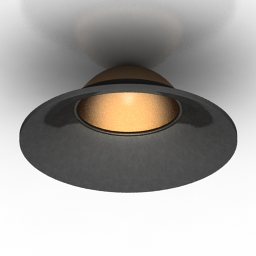 Lamp Donolux DL18413 11WW R Black 3d model