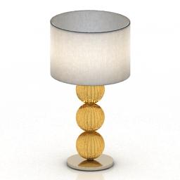 Lamp LA MURRINA Rolls 3d model
