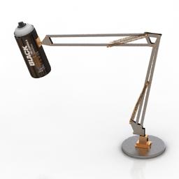 Lamp Spray 3d model