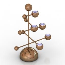 Lamp Teluria Note Design Studio 3d model