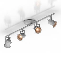 Lamp spot Brilliant Cap G05732 3d model