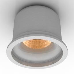 Lamp spot Delta Light Ledon LOFT MB 3d model