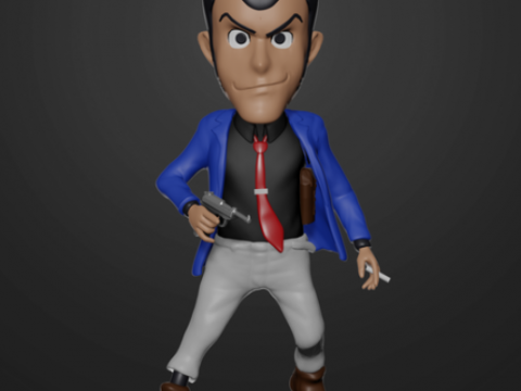 Lupin the Third Bobblehead