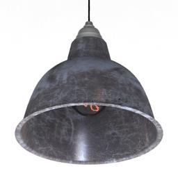 Luster Loft Ceiling Pendant Light Large 3d model