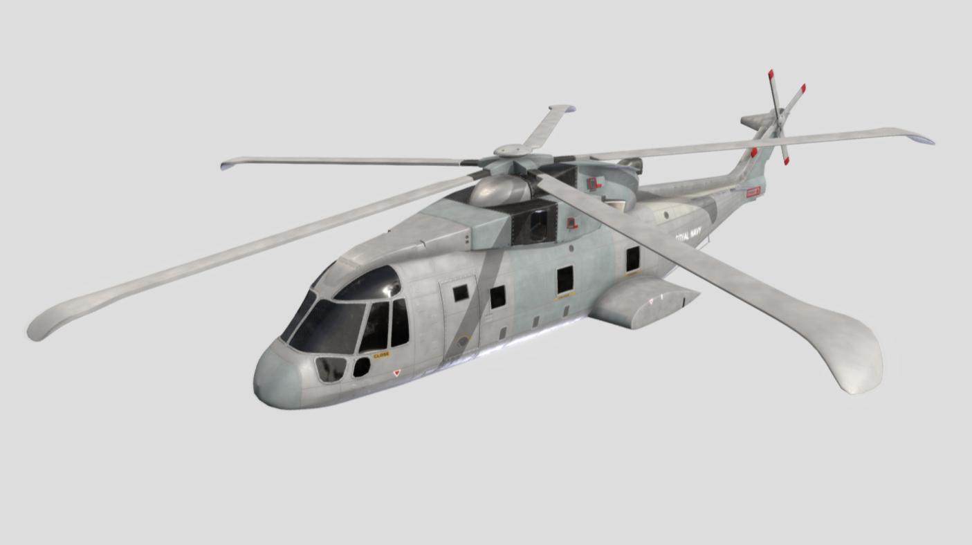 Merlin MK2 Helicopter