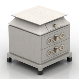 Nightstand Jonathan Adler 3d model
