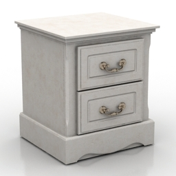 Nightstand MELODY 3d model
