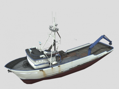 Northwestern Fishing Boat