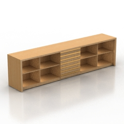 Rack Modern Cabinet SOU tv stand 3d model