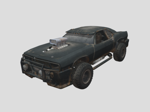Rusty Fighting Car