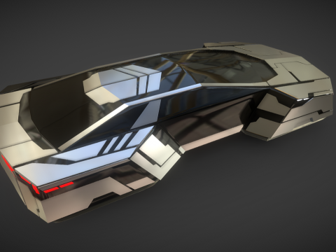 Sci-Fi Vehicle