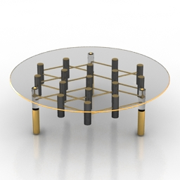 Table Delightfull IKE CENTER 3d model