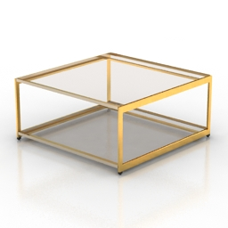 Table HMI H Frame 3d model