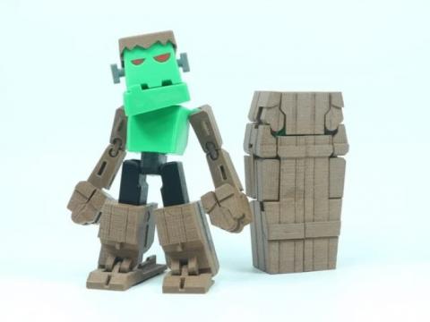 Transformable Frankenstein for Halloween