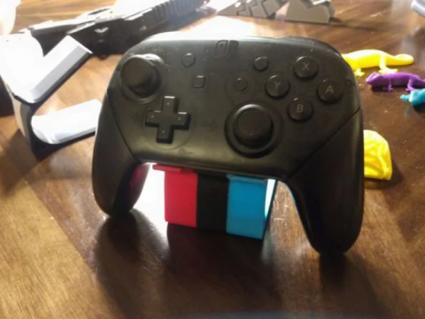 Minimalist switch pro controller stand
