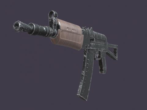 AK-47u - Game Ready