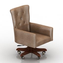 Armchair Coventry Dantone home 3d model