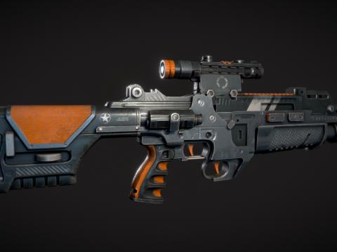 Assault Rifle PBR