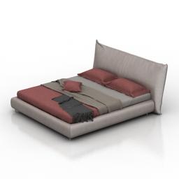 Bed ALIVAR 3d model