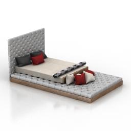 Bed Eternity 3d model