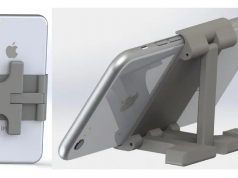 Foldable Holding Phone Stand