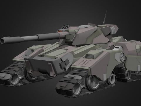 """""""Cobra"""" Futuristic tank concept"""
