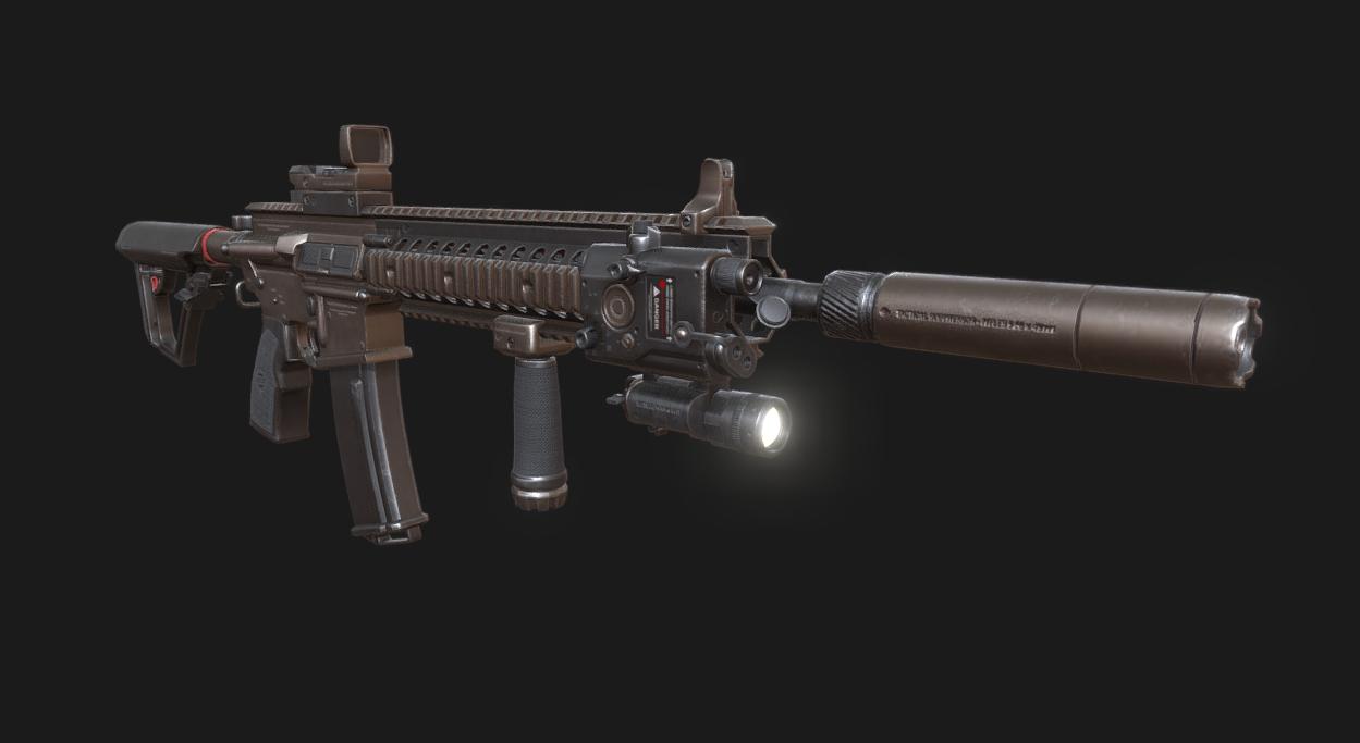 Fuzil Tático M4