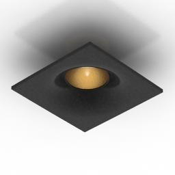 Lamp Donolux DL18413 11WW SQ 3d model