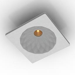 Lamp Donolux DL238G 3d model