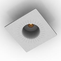 Lamp Donolux DL239G1 3d model