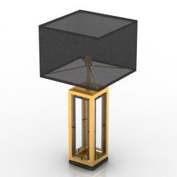 Lamp Eichholtz 3d model