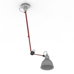 Lamp Gras 302 3d model