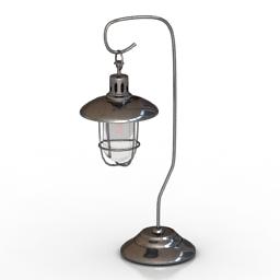 Lamp Pottery Barn Fisherma 3d model