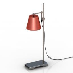 Lamp Steel Lab Light by Karakter Copenhagen 3d model