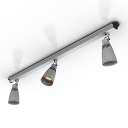 Lamp spot Ikea Kremare 3d model