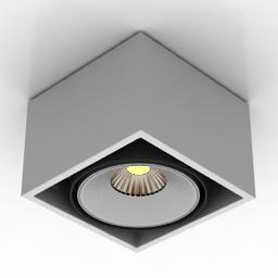 Lamp spot ledon tima delta light 3d model