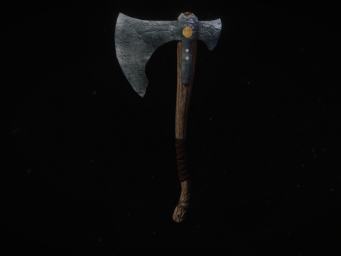 """Leviathan"" axe from the game God of war"