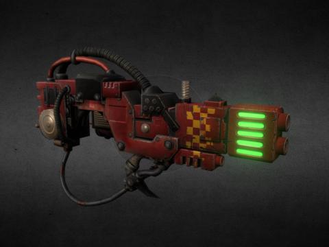 Ork Loota Plasma Deffgun For Xcom2 Mod