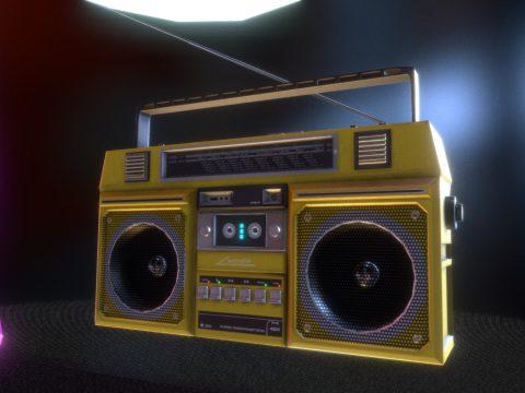 Retro Unitra RMS 404 Boombox