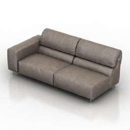 Sofa Crazy Diamond 3d model
