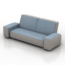 Sofa ZOOM IN by MONTIS 3d model