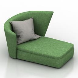 Sofa soft seating 3d model